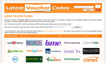 Latest Voucher Codes
